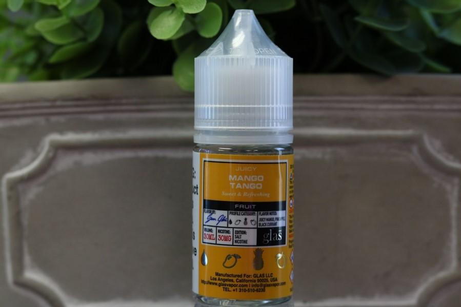 Mango Tango by Glas Basix Nic Salts 30ml E-Juice Glas Salt